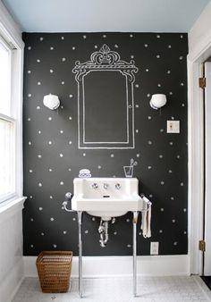 jersey ice cream co. : chalkboard bathroom!