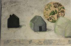 Art:peinture originale sur carton entoilé.