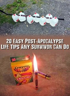 20 Easy Post-Apocalypse Life Tips Any Survivor Can Do - Check these very interesting 20 post-apocalypse life tips out today before the internet is gone forever! Maybe just one of these could help you survive. Survival Life Hacks, Survival Items, Urban Survival, Survival Food, Wilderness Survival, Outdoor Survival, Survival Prepping, Survival Skills, Survival Quotes