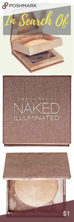 ISO ⭐️ Urban Decay NAKED Luminous ⭐️ - Any Shade Hi, looking to trade any one item or multiples (equal to the value of your trade) for ✨ { Urban Decay Luminous Shimmering Powder } ✨ in new or good condition. ⭐️ Not looking to use Posh for label & will go through USPS First Class (you can print & buy online or at post office)  to keep shipping costs low for both of us. ⭐️ Both of us will agree to send pictures of the items with our username written on paper to prove legitimacy & then send the…