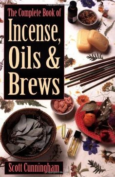 The Complete Book of Incense, Oils and Brews (Llewellyn's Practical Magick) by Scott Cunningham, http://www.amazon.com/dp/0875421288/ref=cm_sw_r_pi_dp_CHvTpb1VTC2JH