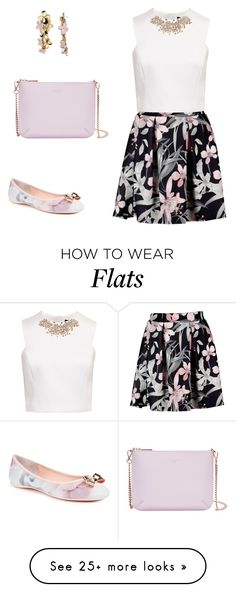 """""""Без названия #2944"""" by xeniasaintp on Polyvore featuring Ted Baker and BaubleBar"""