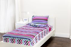 Mix 'N Match with Zipit Bedding with Fantasy Forest and Rocker Princess.Zipit Bedding is America's FIRST all-in-one zippered bedding that will forever change the way people, of ALL ages, make their beds! Simply put, it works like a Sleeping Bag… you just Zipit!