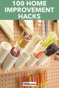 100 Home Improvement Hacks