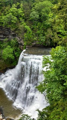 BURGESS FALLS IN TENNESSEE - Sparta, TN or Cookeville? This is 10min outside of Cookeville.
