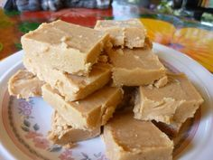SPLENDID LOW-CARBING BY JENNIFER ELOFF: White Chocolate Peanut Butter Fudge