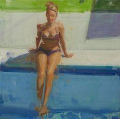 David Shevlino | Sheldon Fine Art Master Studies, Sea Art, Fine Art Gallery, Contemporary Artists, Art Tutorials, Hanging Out, Swimming Pools, Illustration Art, David