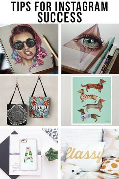 Top Society6 Artists Reveal Their Tips for Instagram Success » Instagram can be used in so many ways, it can often feel overwhelming to find an approach that works for you, so we rounded up a handful of top artists to ask them what works for them.