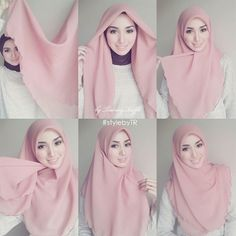 Cute Simple & Easy Hijab Tutorial