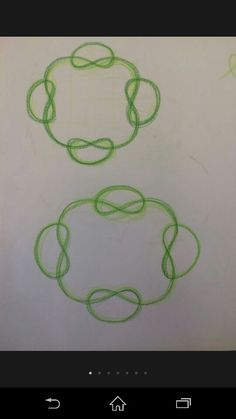 Form drawing 4th Grade Art, Fourth Grade, Form Drawing, Floor Art, Arithmetic, Activity Days, 5th Grades, Celtic Knot, Wicca