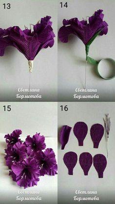 КОНФЕТНЫЕ БУКЕТЫ.Цветы из бумаги с конфетами