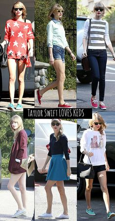 TAYLOR SWIFT KEDS STYLE by lauraperuchimezari, via Flickr