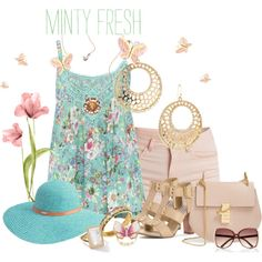 FUN in Floral Print !! by fashiongirl-26 on Polyvore featuring M&Co, Pieces, Steve Madden, Chloé, R.J. Graziano, Ippolita, Kate Bissett, River Island and Betmar
