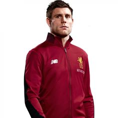 Buy LFC Mens Red Pepper Training Presentation Jacket 17/18 | Liverpool FC Official Store