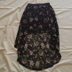 """Selling this """"High low skirt"""" in my Poshmark closet! My username is: krdefacci. #shopmycloset #poshmark #fashion #shopping #style #forsale #Charlotte Russe #Dresses & Skirts"""