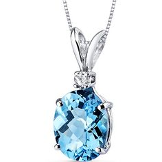 Blue Topaz Pendants and Jewelry Sets Are Perfect Gifts | Wonderful Gifts for Wonderful People