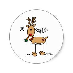 Drawing How To Draw A Cute Cartoon Rudolph Reindeer Baby