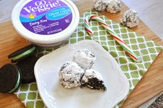 Milk Allergy Mom: Dairy-Free Mint Oreo Truffles