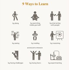 9 Ways To Learn