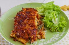 Photo de recette de lasagnes aux herbes et à la ricotta de Kilomètre-0, blog de cuisine réalisée à partir de produits locaux et issus de circuits courts