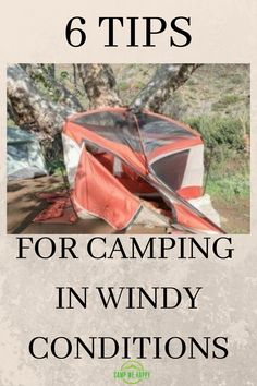 Do you know what to do when the weather turns nasty to protecxt you and your tent? Get some TOP TIPS here.