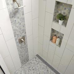 Unutterable Shower remodeling on a budget diy,Bathroom shower remodel tricks and Shower remodeling with window small bathrooms ideas. Modern Bathroom, Master Bathroom, Bathroom Ideas, Bathroom Renovations, Shower Ideas, Small Bathrooms, Bathroom Layout, Bathroom Organization, Bathroom Wall
