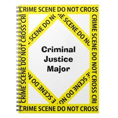Criminal Justice how many subjects for college notebook