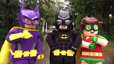 LEGO Batman Movie Billboard Takeover Event - The Flash, Supergirl, Arrow...
