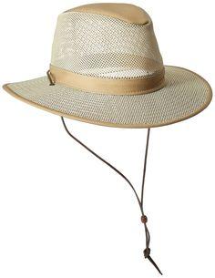 7cd4c0b671602 Details about New Henschel Men s Polycotton Packable Mesh Breezer Safari Hat