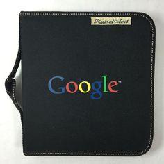 Google Logo Picnic at Ascot Portable Cheese Board & Cutlery Set Zip Portfolio #PicnicatAscot