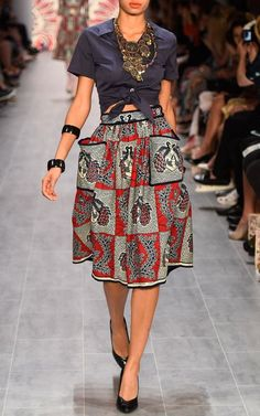 Lena Hoschek Spring/Summer 2015 Trunkshow Look 52 on Moda Operandi