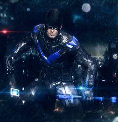 Nightwing Arkham Knight by AnubisDHL