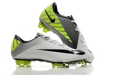 Nike Mercurial Vapor Superfly III FG - White Black Volt