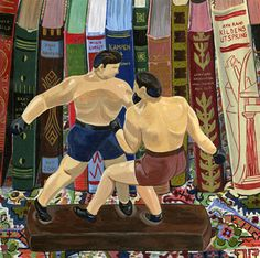 ' The Fight' by Jane Dunn Borresen. New print available on - http://fineartamerica.com/featured/-the-fight-jane-dunn-borresen.html Acrylic Print $93