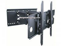 Monoprice Titan Series Full-Motion Articulating TV Wall Mount Bracket for TVs to Max Weight 175 lbs Extension Range of to VESA Up to Works with Concrete & Brick Corner Tv Wall Mount, Swivel Tv Wall Mount, Swivel Tv Stand, Tv Wall Brackets, Tv Wall Mount Bracket, Wall Mounted Tv, Full Motion Wall Mount, 60 Inch Tvs, Home Theaters