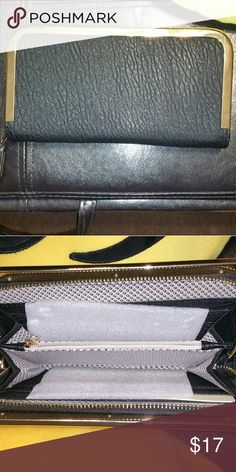 NWOT. Large wrislet Great for on the go, will carry a cell phone, key, money and card. Bags Clutches & Wristlets