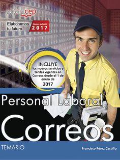 SETEMBRE-2017. Francisco Pérez. Personal laboral correos. Temario.  TREBALL 35 COR