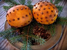 clove studded oranges make winter seem a little bit brighter