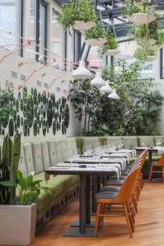 Retro Lighting at the Hanging Gardens of Berthelot Restaurant | See more at http://www.delightfull.eu/en/news/