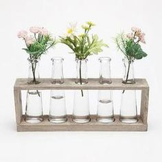 Laboratory Flower Vases. #MothersDay #pintowingifts