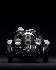 "1939 ""Blower"" Bentley (A shot of a toy--Minichamps Still, a good shot. Luxury Sports Cars, Classic Sports Cars, Sport Cars, Race Cars, Classic Cars, Grand Prix, Mercedes Benz 300, Porsche 550 Spyder, Dream Cars"