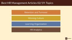 A selection of Must-Read HR Management Articles - HRM Handbook Learning Organization, Hr Management, The Selection, Articles, Writing, Reading, Blog, Reading Books, Blogging