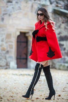#coats #capecoats #boutique #blogger  #blazer #fashion #style #winter #coats #autumn #womenclothing #outerwear  #personalshopper  #moda #women #style #beauty #colorful #womensfashion #blogger  #nice #tutoriais #makeup #diy #clothes #outfit Diy Clothes, Clothes For Women, Cape Coat, Blazer Fashion, Winter Coats, Over The Knee Boots, Colorful, Style Inspiration, Autumn