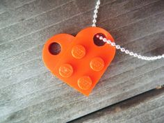 Lego pendant tutorial.  Find coupling pieces.  Girl gifts for school