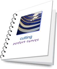 Click on the book to learn the secrets of Cutting Perfect Curves with this e-book. A gift from Stained Glass Mil to you :)