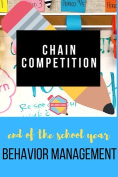 This is behavior management system transforming classroom behavior all over! If students are struggling during this last part of the school year, check out this easy-to-use idea to get your students working and caring about their action! Perfect for middle school! You will love this chain competition for your classes.