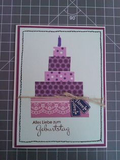 Happy Birthday Torte! Karte