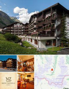 O hotel situa-se no centro da cidade de Zermatt. Nas imediações encontrará uma paragem de transportes públicos. O hotel oferece ainda serviço de shuttle.