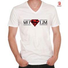 -T-SHIRT ' SUPER MUSLIM ' à 1800DA!