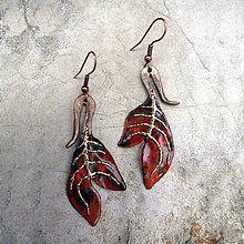 Jesenný list / KatarinaKondacova - SAShE.sk - Handmade Náhrdelníky Decorative Bells, Autumn, Drop Earrings, Handmade, Jewelry, Hand Made, Jewlery, Fall Season, Jewerly